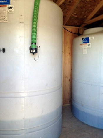 Liquid Chemical Solutions Storage Tanks